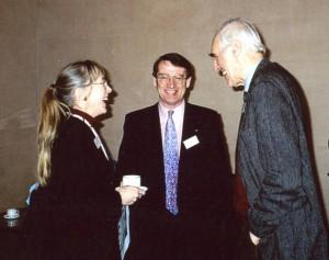 Coffee Break at the 2002 British Museum Colloquium.