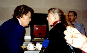 Coffee Break at the 2002 British Museum Colloquium.