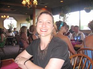 Larissa Tracy at the 2007 Congress. Photography by Larissa Tracy.