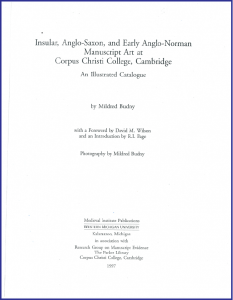 Title Page for the 'Illustrated Catalogue' (1997), laid out in Adobe Garamond according to the RGME 'Style Manifesto'