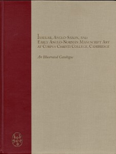 "Front Cover of Volume 1 of ""Insular, Anglo-Saxon, and Early Anglo-Norman Manuscript Art at Corpus Christi College, Cambridge: An Illustrated Catalogue"" (1997)"