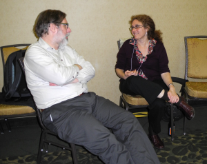 Conversation at the Anniversary Reception (2014 Congress) with Photography by Mildred Budny