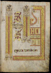 St. Gallen, Stiftsbibliothek, Cod. Sang. 60: 'Evangelium S. Johannis' via (https://www.e-codices.unifr.ch/en/list/one/csg/0060).