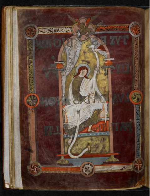 © The British Library Board, Royal MS 1 E vi, folio 30v. Reproduced by permission