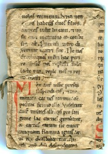 Recto of Part-Leaf from the Passio Sancti Blasii in a private collection.