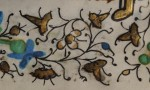 Border Closeup. Floral ornament. Photography © Mildred Budny.