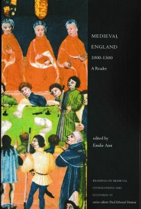 Front cover for 'The Idea of the Castle in Medieval England', by Abigail Wheatley, in hardback with dustjacket (1997)