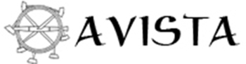 AVISTA logo with lettering and hammers
