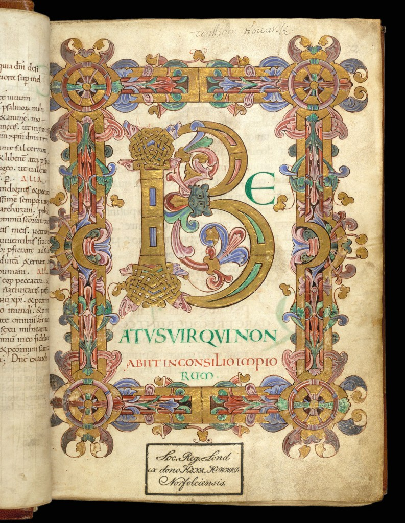 © The British Library Board, Arundel MS 155, folio 12r.