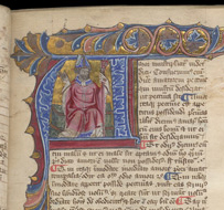 © The British Library Board, Royal MS 6 E VI folio 6r. Reproduced by permission.