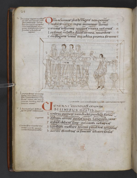 © The British Library Board. Additional MS 24199, folio 16v. Reproduced by permission.