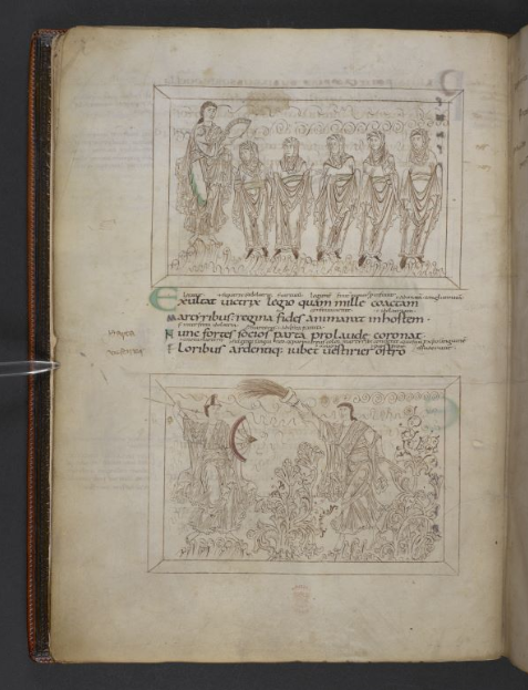 © The British Library Board. Additional MS 24199, folio 5v. Reproduced by permission.
