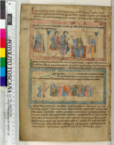 © The British Library Board. Cotton MS Claudius B IV, folio 68v. Reproduced by permission.