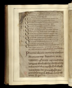 © The British Library Board. Cotton MS Tiberius A III folio 179v. Reproduced by permission.