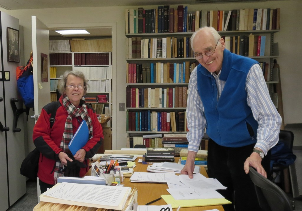 2 Princeton Trustees of the Research Group on Manuscript Evidence. 7 December 2015. Photography © Mildred Budny.