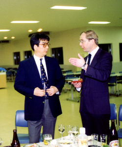 Reception at Tokyo University Komaba, 28 November 1992. Photograph © Mildred Budny