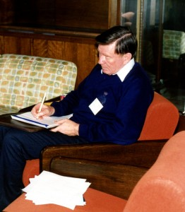 Derek Baker at the 1992 Kalamazoo Congress