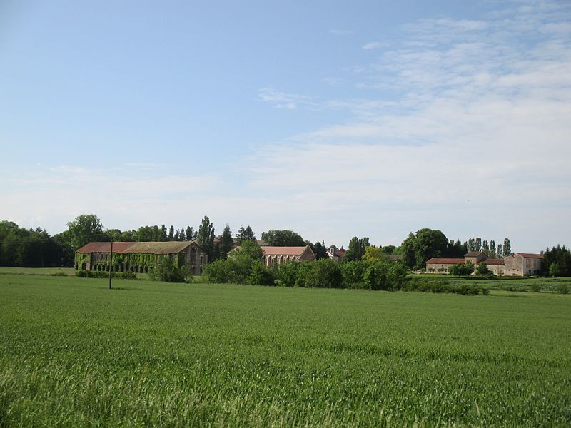 Cîteaux Abbey within its landscape. Photograph by Arneau 25 via Creative Commons.