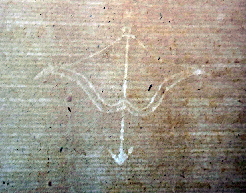 Part A, Section 2, Watermark. Folio 96 detail.