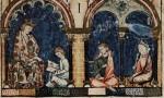 Libro de los juegos, folio 1 recto, detail. El Escorial, MS T.I.6, Folio 1 recto.