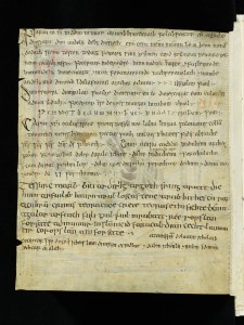 Saint Gall, Stiftsbibliothek, Cod. Sang. 1395, page 419 = verso with the Saint Gall Incantations. Via Creative Commons.