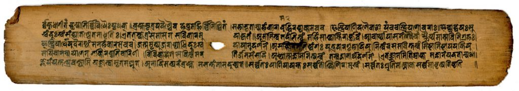 Palm-Leaf Manuscript from Nepal, probably 15thc-century CE. Private Collection