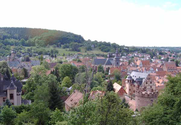 Historic Center of Büdingen. Photograph by Steschke, via Creative Commons.