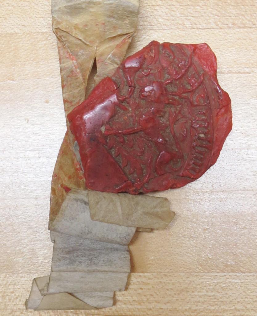 Preston Charter 12: Seal. Photograph Mildred Budny.