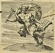 Book-bearing figure of Hermes Trismegistus depicted in the Frontispiece of the Malleus Maleficiarum by Heinrich Kramer and Jacob Sprenger (Lyons, 1669), via J._Sprenger_and_H._Institutoris,_Malleus_maleficarum._Wellcome_L0000980detail.