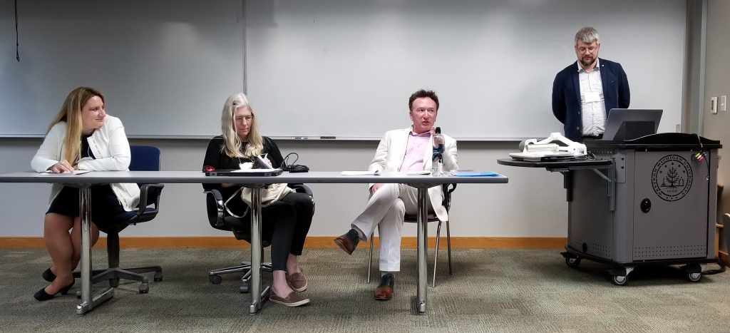 Panel for Mainstream Session Kzoo 2019. Photograph Mildred Budny.