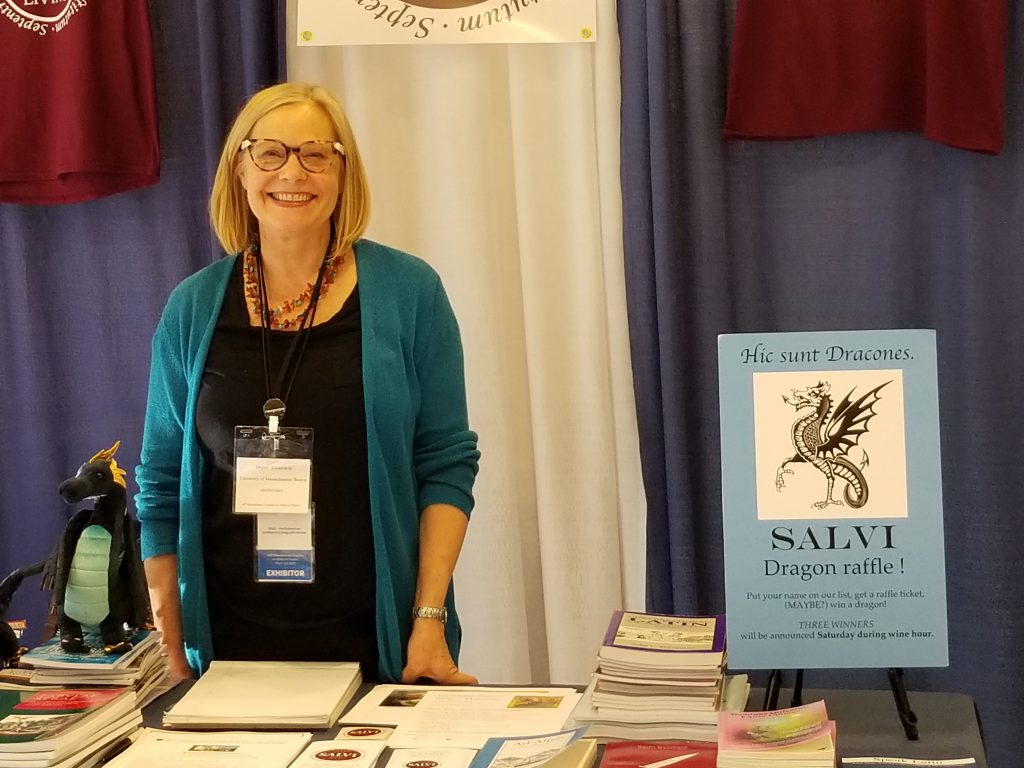 Diane in the Display 2019 Congress.