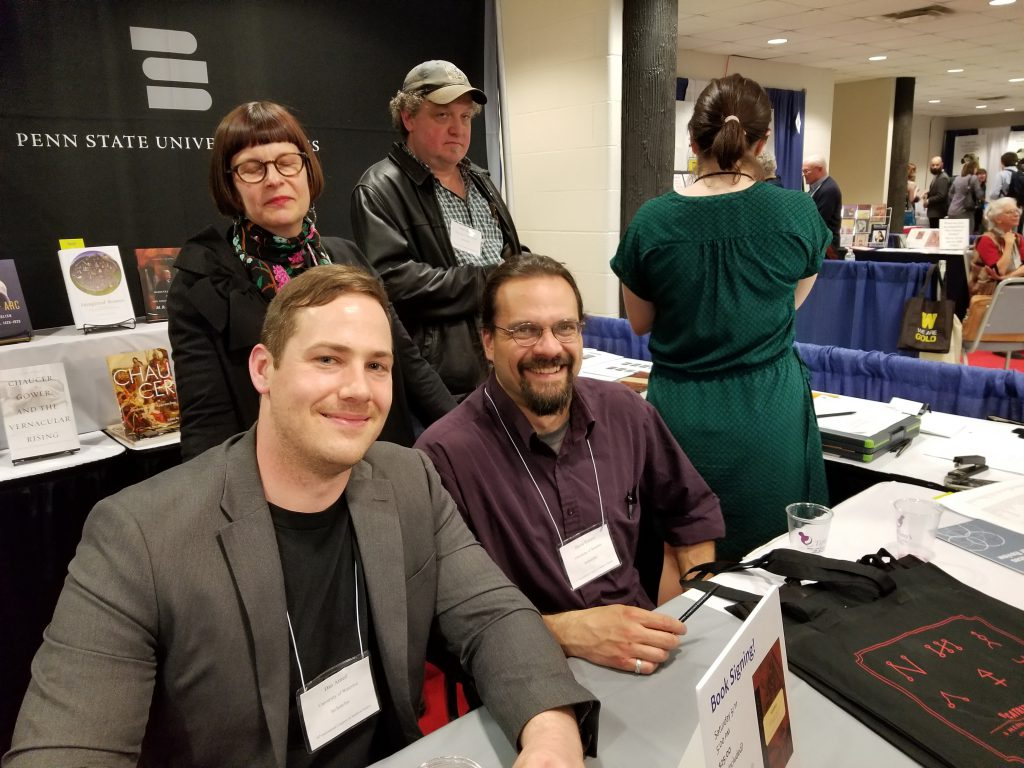 Dan and David at Their Book-Signing at the 2019 Congress.