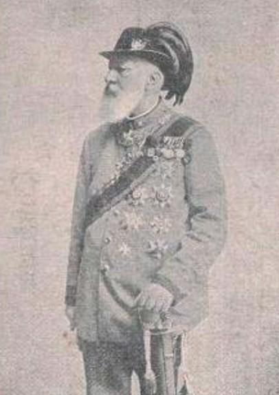 Bruno zu Ysenburg und Büdingen (1837-1906), 3. Fürst zu Ysingen-Büdingen (postcard). Image Public Domain via http://worldroots.com/brigitte/royal/royala-i.htm.