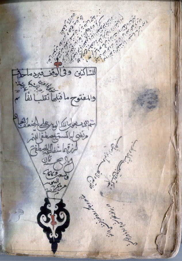Colophon of Arabic AH 898.