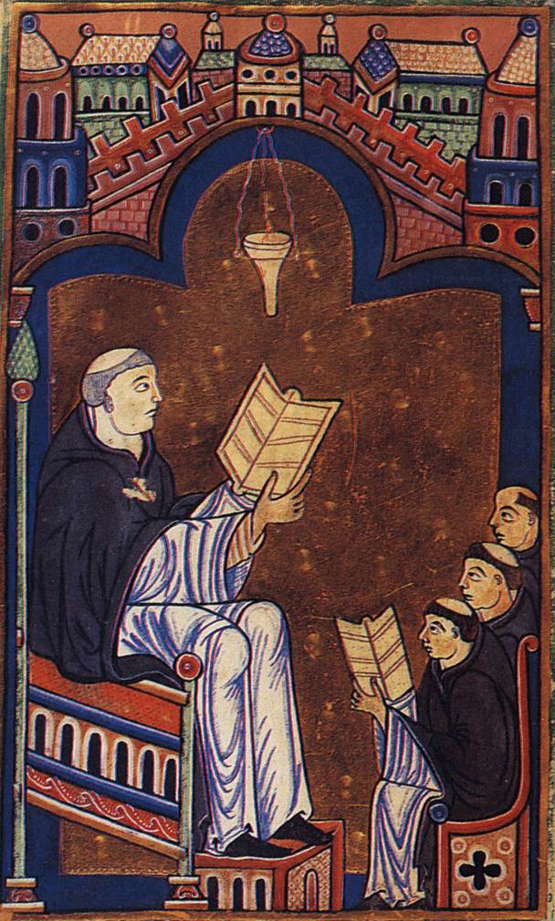 Bodleian Library, Works of Hugh of Saint-Victor. via Wikimedia Commons. https://upload.wikimedia.org/wikipedia/commons/e/e2/Works_of_Hugh_of_St-Victor.jpg