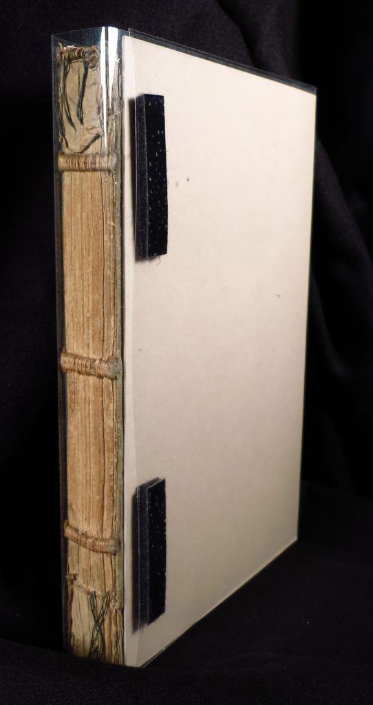 Smeltzer Collection, Henri de Suberville (1598), Spine View as Preserved.