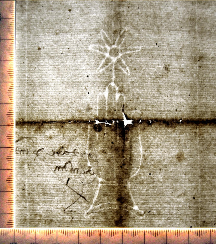 Private Collection. Watermark on Sale Contract on paper from Haro in Castile, dated December 1494.