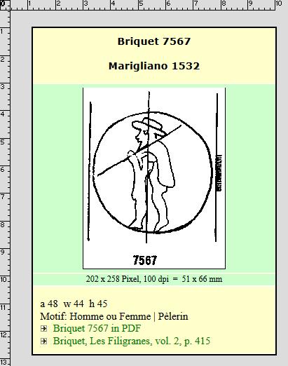Briquet 7567 Pilgrim, via Briquet Online.