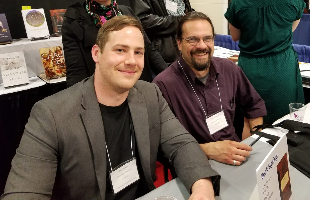 The Book Signing at the 2019 Congress. The Translators Dan Attrell and David Porreca sign their new book. Photography Mildred Budny.