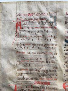 J. S. Wagner Collection, Ege Manuscript 22, Folio clvi, verso, top.