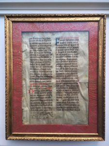 J. S. Wagner Collection, Ege Manuscript 22, Folio clvi, recto, within its frame.