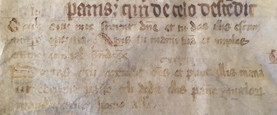 J. S. Wagner Collection, Ege Manuscript 22, Folio clvi, verso: Bottom Left. Reproduced by permission.