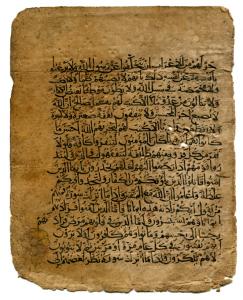 Verso of the same leaf