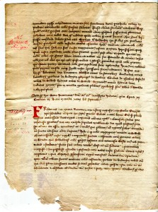Selbig Cartulary 2v