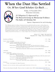 2014 Colloquium Poster